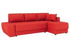 Угловой диван Олимп-1 (Красный)