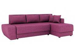 Угловой диван Олимп-1 (Фиолетовый)