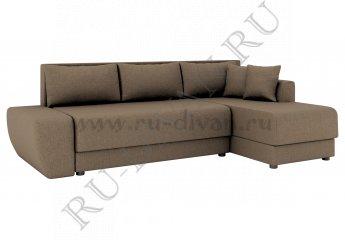 Угловой диван Олимп-1 фото 1 цвет коричневый