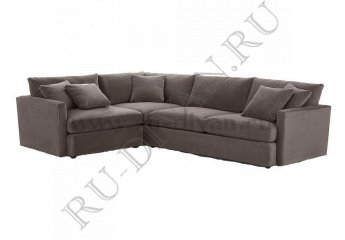 Угловой диван Стелф фото 1 цвет коричневый