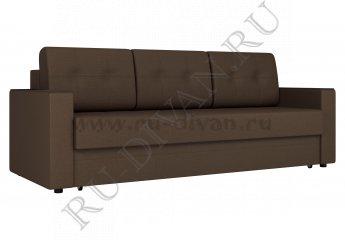 Диван Атланта еврокнижка фото 1 цвет коричневый