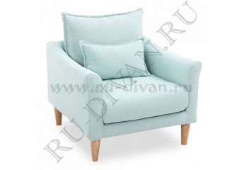 Кресло Катрин – доставка фото 1 цвет голубой