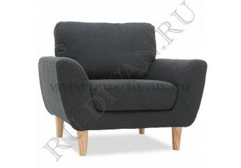 Кресло Алиса – доставка фото 1 цвет черный