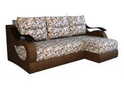 Угловой диван Капля (Коричневый)