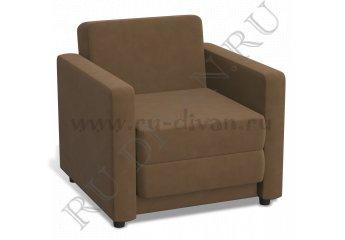 Кресло-кровать Блюз 3-1 фото 1 цвет коричневый