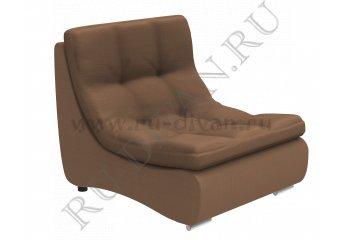 Модуль кресло Монреаль фото 1 цвет коричневый