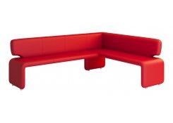 Угол для кухни Сигма (Красный)