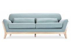 Прямой диван Йоко (Голубой)