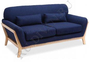 Прямой диван Йоко фото 1 цвет синий