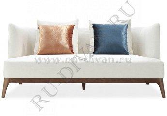 Прямой диван Старлайт фото 1 цвет белый