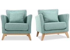 Кресло для отдыха Дублин (Голубой)