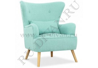 Кресло для отдыха Оттавия – доставка фото 1 цвет голубой