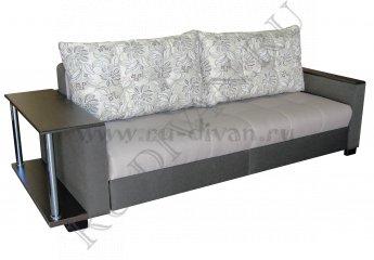 Диван Премьер-3 Люкс со столиком фото 1 цвет серый