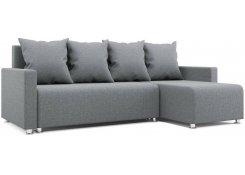 Угловой диван-еврокнижка Каир (Серый)