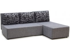 Угловой диван-еврокнижка Сеул (Серый)