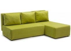 Угловой диван-еврокнижка Сеул (Зеленый)