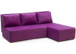 Угловой диван-еврокнижка Сеул (Фиолетовый)