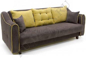 Диван-кровать Муссон-2 фото 1 цвета: коричневый, желтый