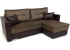 Угловой диван-еврокнижка Перс (Коричневый)