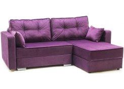 Угловой диван-еврокнижка Перс (Фиолетовый)