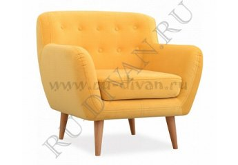 Кресло Эллинг фото 1 цвет желтый