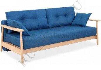 Диван Элума Еврокнижка фото 1 цвет синий