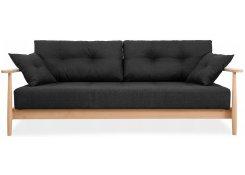 Диван-кровать Элума (Черный)