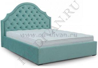 Кровать Марракеш Капитоне – отзывы покупателей фото 1 цвет голубой