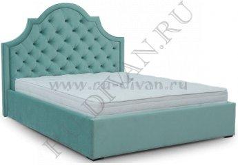 Кровать София Капитоне – характеристики фото 1 цвет голубой