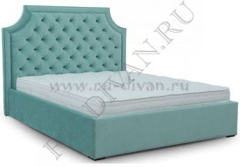 Кровать Наоми Капитоне – характеристики фото 1 цвет голубой