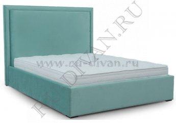 Кровать Тиффани – характеристики фото 1 цвет голубой