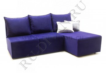 Модульный угловой диван Поло без боковин фото 1