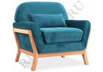 Кресло для отдыха Йоко – отзывы покупателей фото 1 цвет голубой
