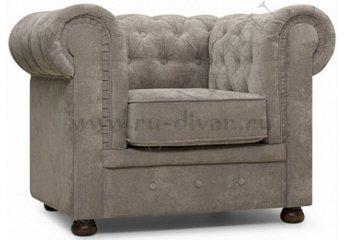 Кресло Честер – характеристики фото 1 цвет серый