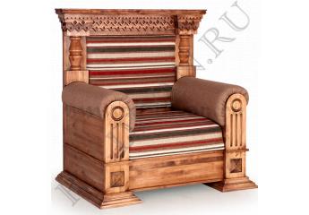 Кресло Кантри – доставка фото 1 цвет коричневый