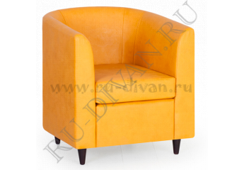 Кресло Клуб – доставка фото 1 цвет желтый