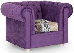 Кресло Честерфилд (Фиолетовый)
