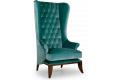 Кресло Трон – характеристики фото 1 цвет зеленый