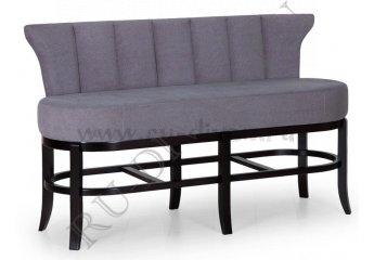 Барный диван Монро фото 1 цвет серый