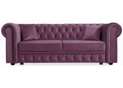 Прямой диван Честер Люкс (Фиолетовый)