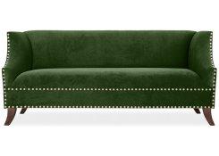 Прямой диван Оберхауз (Зеленый)