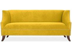 Прямой диван Оберхауз (Желтый)