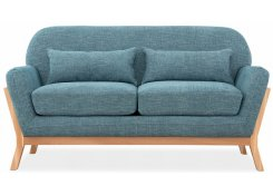 Прямой диван Йоко (Синий)
