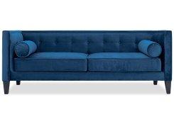 Прямой диван Довиль (Синий)
