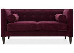 Прямой диван Довиль (Фиолетовый)