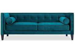 Прямой диван Довиль (Зеленый)
