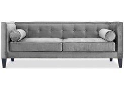 Прямой диван Довиль (Серый)