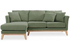 Угловой диван Дублин (Зеленый)