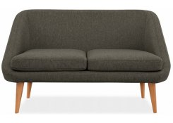 Прямой диван Семеон (Коричневый)