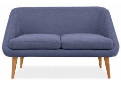 Прямой диван Семеон (Синий)
